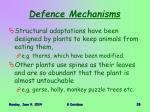 defence mechanisms1