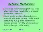 defence mechanisms3