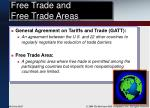 free trade and free trade areas