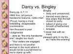 darcy vs bingley