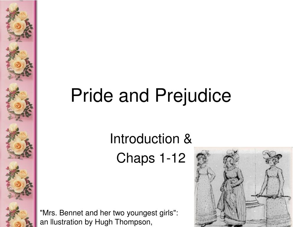 introduction to pride and prejudice essay 1 introduction pride and prejudice is famous as a masterpiece of jane austen for centuries many factors contribute to the success of it we will write a custom essay sample on analysis of feminism in pride and prejudice specifically for you for only $1638 $139/page.