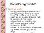 social background 2