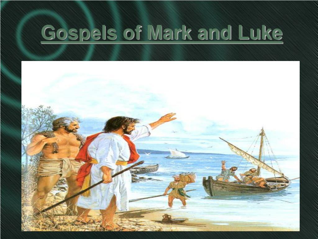 gospels of mark and luke l.