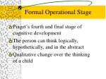 formal operational stage88