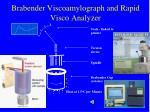 brabender viscoamylograph and rapid visco analyzer