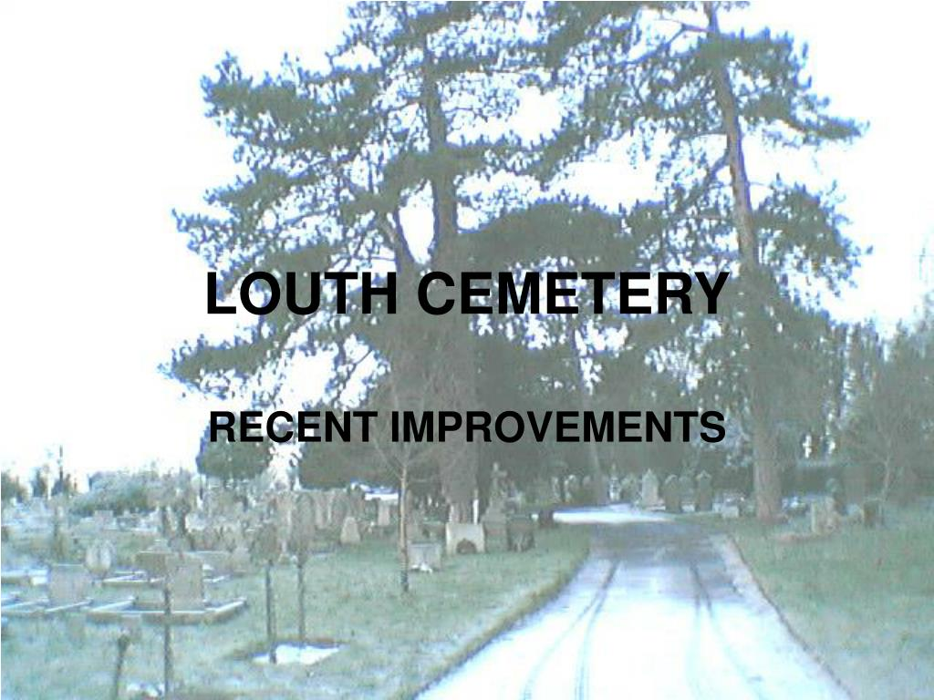 louth cemetery l.