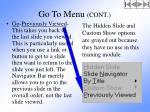 go to menu cont10