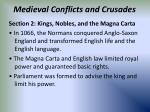 medieval conflicts and crusades48