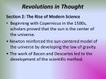 revolutions in thought67
