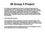 ib group 4 project7