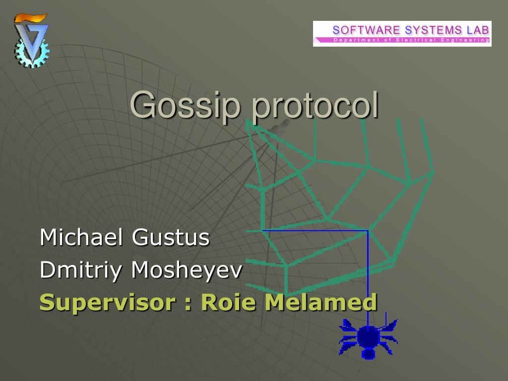 gossip protocol l.