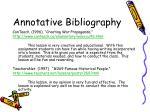 annotative bibliography32