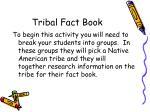 tribal fact book