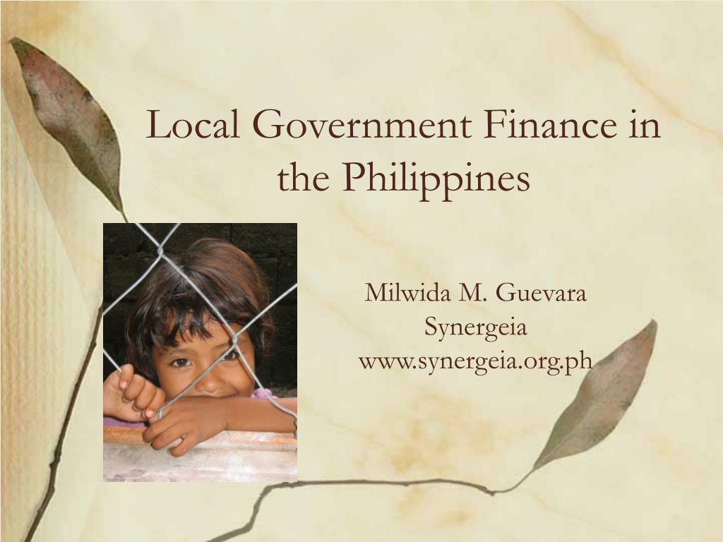 local government finance in the philippines l.