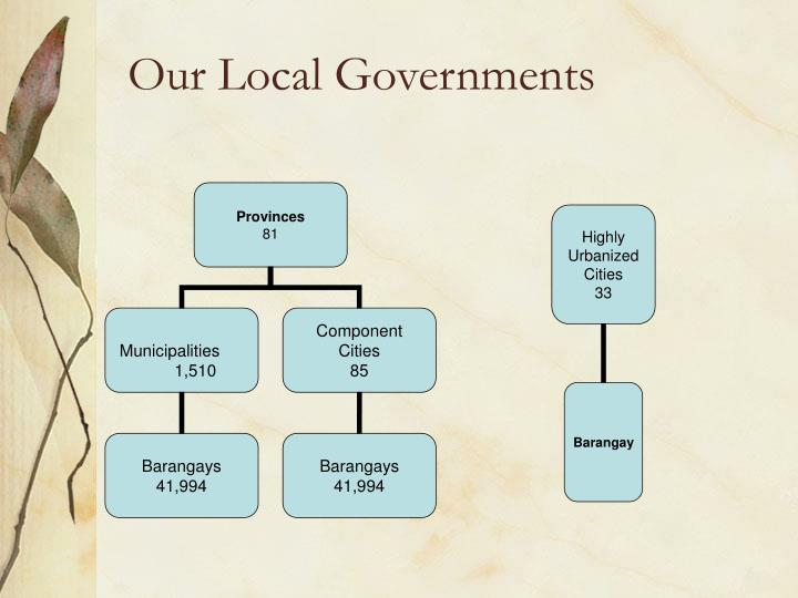 Our local governments