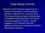case study cont d23