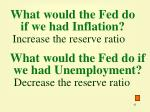 what would the fed do if we had inflation41