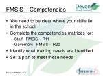 fmsis competencies