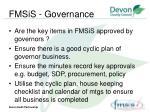 fmsis governance