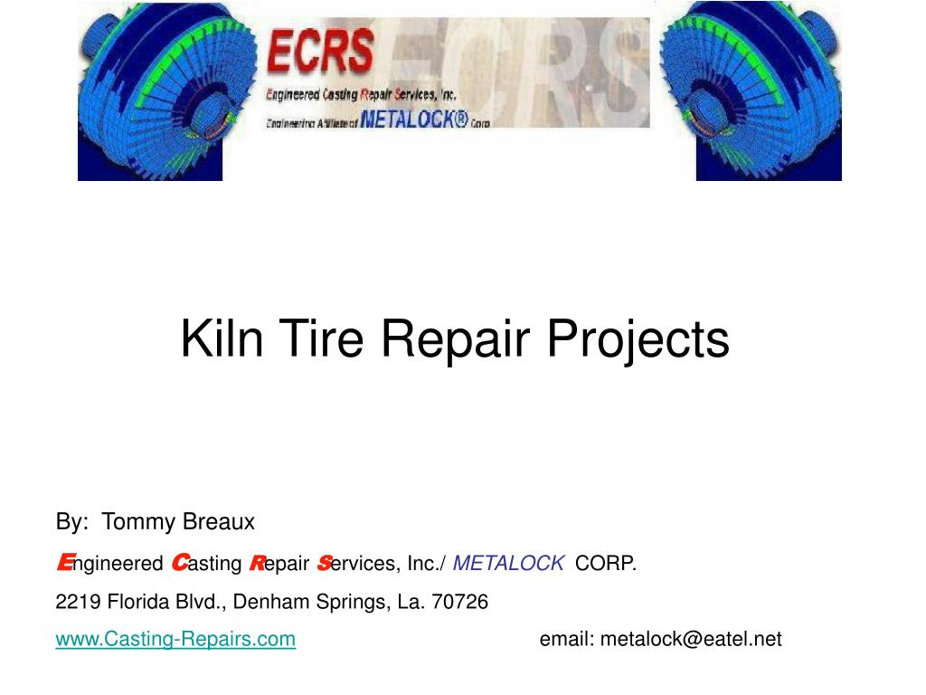 kiln tire repair projects l.