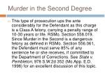 murder in the second degree2