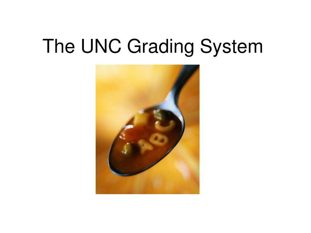 the unc grading system l.