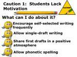 caution 1 students lack motivation6