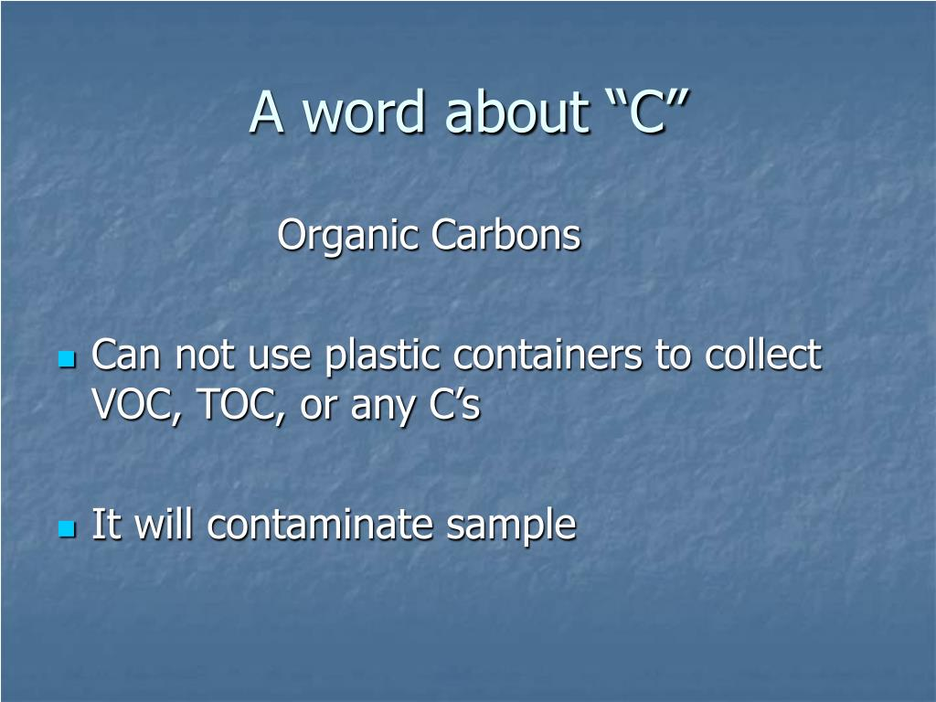 """A word about """"C"""""""