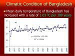 climatic condition of bangladesh