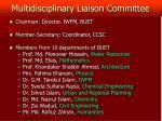 multidisciplinary liaison committee