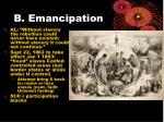 b emancipation