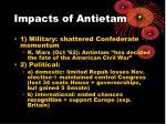 impacts of antietam