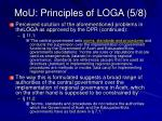 mou principles of loga 5 8