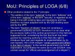 mou principles of loga 6 8