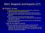 mou seaports and airports 2 7