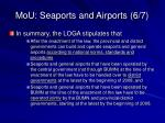 mou seaports and airports 6 7