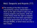 mou seaports and airports 7 7
