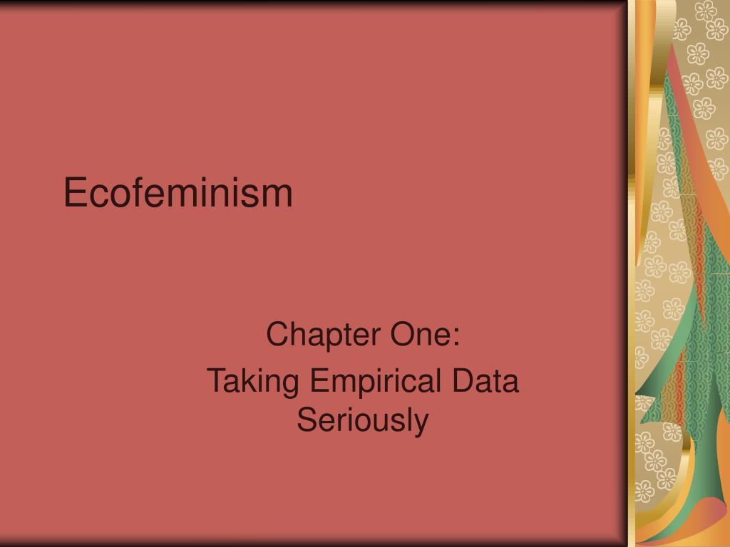 ecofeminism l.