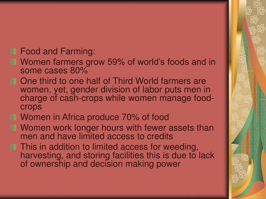 Food and Farming: