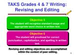 taks grades 4 7 writing revising and editing19