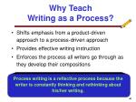 why teach writing as a process