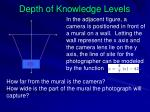 depth of knowledge levels1