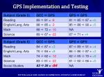 gps implementation and testing1