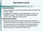 interfund activity