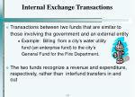 internal exchange transactions