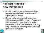 revised practice new pavements2