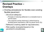 revised practice overlays1