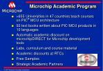 microchip academic program18