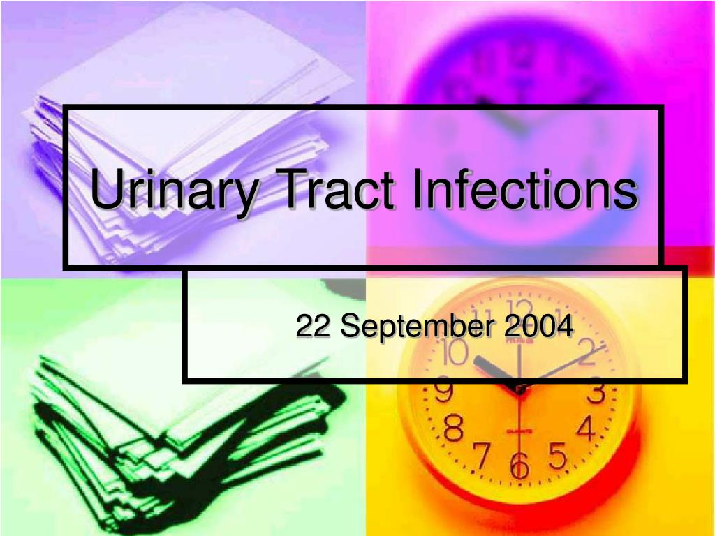 urinary tract infections l.