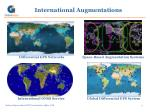 international augmentations